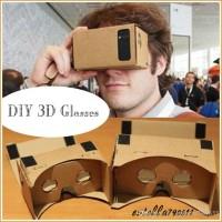 GOOGLE CARDBOARD VIRTUAL REALITY 3D GLASSES WITH NFC AND HEADBAND