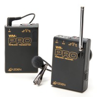 Azden WLX-PRO VHF Wireless Lavalier Microphone System