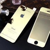 Tempered Glass 2in1 depan belakang for Apple Iphone 5 Gorilla glass