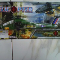 Mainan Helicopter Army
