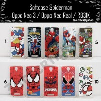 Softcase Spiderman Oppo Neo 3 / Oppo Neo Real / R831k