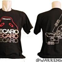 harga Tshirt Recaro Detail Jok Racing Tokopedia.com