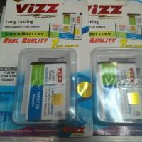 Baterai Vizz Double Power Samsung B3410 W559 C3322 Lakota 1850mah