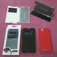 Sony Xperia C3 D2533 - Dual D2502 Flip Cover View Stand Case