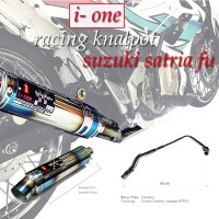 KNALPOT I-ONE RACING PELANGI SATRIA FU INJEKTION