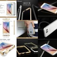 Jual Baseus Arc Bumper Metal Frame Cover Case Samsung Galaxy S6