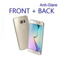 Jual Anti Gores Anti-glare Front-back Protector Samsung Galaxy S6 Edge