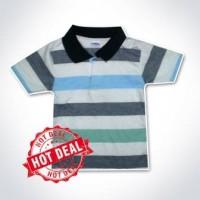 Kaos Anak POLO Salur - Belang S 1-3 Tahun