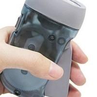Senter Pompa charger Tanpa listrik / charger dengan pompa/ senter hemat energi