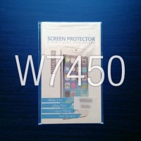 Screen Guard Matte Anti Glare Polytron Wizard Quadra W7450