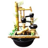 harga Kerajinan Miniatur Air Mancur Bambu Cendani - Jtp Jungkat Jungkit Tokopedia.com