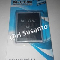Baterai M-com For Cross Evercross A66 Double Power 3800mah
