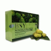 Jual BSY Shampoo / Shampo / Sampo Noni Black Hair Magic Murah