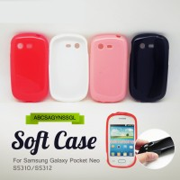 [M.G]Jelly/Silicon/Soft Case Samsung Galaxy Pocket Neo S5310/S5312