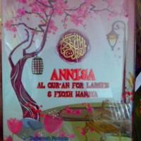 Annisa, Al Quran Terjemah dan Fiqih Untuk Wanita Ukuran A5