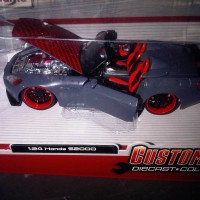 Diecast Maisto Custom Shop 1:24 - Honda S2000 Abu abu