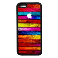 05 Apple Logo Iphone 6 Rubber/soft Case,casing,murah,keren,unik,kayu