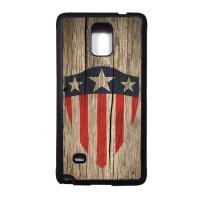 10 CAPTAIN AMERICA Samsung Galaxy NOTE 4 SOFT case,casing,kayu,motif
