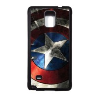 6 CAPTAIN AMERICA Samsung Galaxy NOTE 4 SOFT case,casing,avengers,unik