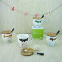 harga Animal Tail Cup  / Mug Buaya Anjing Kucing Jerapah Lucu Sendok Tutup Tokopedia.com