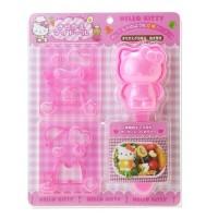 Pencetak Cetakan Nasi Rice Sushi Mold Bento Tools Nori Seaweed Cutter Puncher Hello Kitty Hellokitty Kity HK Sanrio