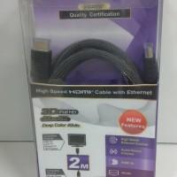 Kabel Hdmi Kualitas TAIWAN Highspeed PX 2 MX + Ultra HD (2160p)