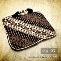 TAS LAPTOP BATIK Murah 10 inch | TL-07