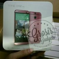 HTC ONE M8 Pink Edition tangan pertama