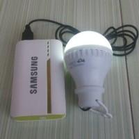 lampu Bohlam LED 5W USB 1M / USB Bulb/ Lampu Tenda / Lampu Power Bank