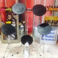 harga 5pc Practice Drum Pad Set Maxtone Td786 Tokopedia.com
