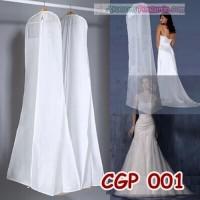 Cover Pelindung Gaun Pengantin l Penyimpanan baju dress pesta- CGP 001