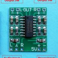 PAM8403 Mini 5V USB Digital Amplifier Board Stereo 2 Channel 3W + 3W