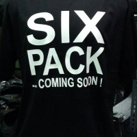 Kaos/Baju Six Pack Coming Soon