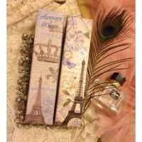 Paper box vintage cosmetic case wadah alat kecantikan