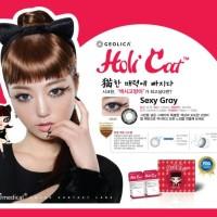 SEPASANG Softlens Geo Medical HoliCat Sexy Gray Korea BISA MINUS