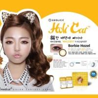 SEPASANG Softlens Geo Medical HoliCat Barbie Hazel Korea BISA MINUS