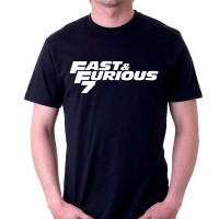 Kaos Fast and Furious 7 FNF008 Fast and Furious Tees