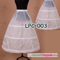 Petticoat bridal Panjang l Rok Dalaman Gaun Pengantin (3ring) - LCP003