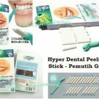 Hyper Dental Peeling Stick - Isi 25 pcs + 1 karet dudukan