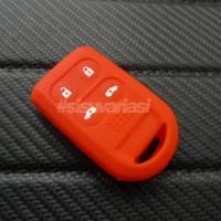 harga Cover Kunci / Cover Key Silikon Honda Freed Psd Merah Tokopedia.com