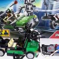 LEGO SUPERHERO : SPIDER CYCLE CHASE
