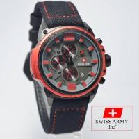 Swiss Army Kanvas Edition 4122 Black Red