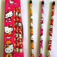 Pensil 2B Hello Kitty (Plus Eraser) New