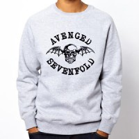 SWEATSHIRT AVENGED SEVENFOLD GREY