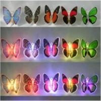 harga Lampu Dekorsi   Kupu kupu LED 7 Warna   souvenir   kamar tidur   Unik Tokopedia.com