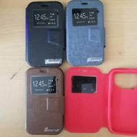 flipcase universal untuk semua merk hp ukuran 4 - 4.2 inch (flipcover)