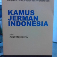 Dictionary / kamus bahasa Jerman indonesia