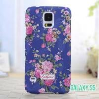 Casing Hp Samsung Galaxy S5 ch145 Cover Bunga