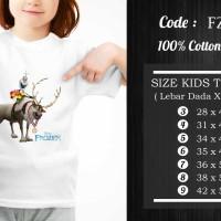 Kaos Anak Frozen / Frozen T-shirt - Fz-005