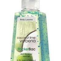Pocketbac body luxeries coconut lime verbena
